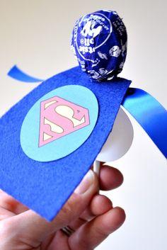 Morgan- birthday favors Superhero  #food