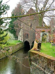 ~Grey Friars in Canterbury, England~           (A Franciscan Monastery that dates to 1267)
