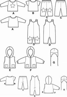 Kuvatulokset haulle Free Printable Doll Clothes Patterns