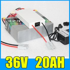 36V Lithium li-ion 20AH Battery Pack , 42V 500W Electric bicycle Scooter bafang 36v Battery , Free BMS Charger Shipping