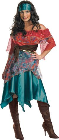 Bohemian Babe Gypsy Costume - Gypsy Costumes