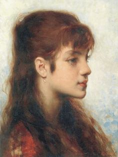 Marie Bashkirtseff. Jeune fille rousse.