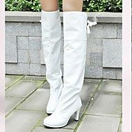 Women's Shoes Round Toe Stiletto Heel Knee High Boots More Colors Available Save up to 70% Off at Light in the Box with Coupon and Promo Codes.