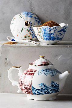 Unlikely Symmetry Tea Set