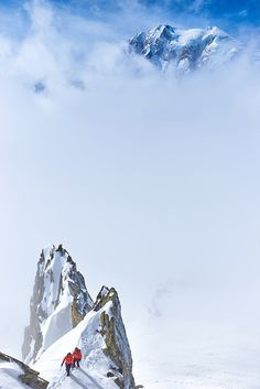 Mont Blanc, French Alps by Kamil Tamiola via Tumblr