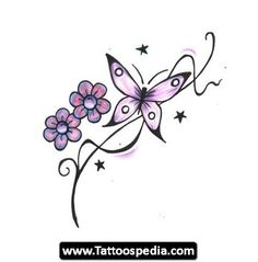 Tattoos Butterfly Designs 16 - http://tattoospedia.com/tattoos-butterfly-designs-16/