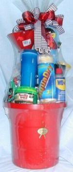 car care gift basket for him
