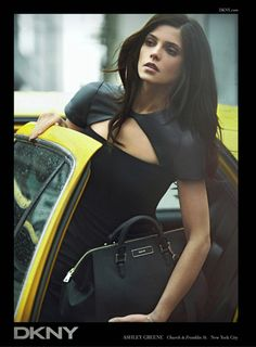 Ashley Greene for DKNY Fall 2012 Ad Campaign