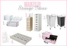 beautiful makeup storage | Makeup Collection Storage Ideas