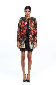 Rose coat Social Club, Cashmere, Kimono Top, Wool, Designers, Roses, Fashion, Cashmere Wool, Moda