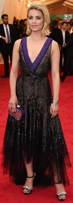 Dianna Agron - 2014 Met Gala at the Metropolitan Museum of Art, NYC (May 5)