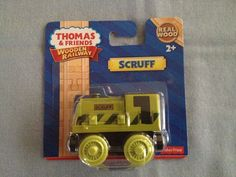 Thomas and Friends wooden railway train ** SCRUFF ** ~ New in package #FisherPrice