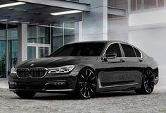 Lexani Wheels, the leader in custom luxury wheels.  2016 BMW 7 Series on CSS-15 MBT