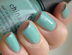 China Glaze ~ For Audrey China Glaze Nail Lacquers #chinaglaze #OPI @opulentnails over 12,000 pins