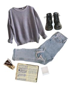 """life is beautiful and you don't have a clue"" by difficulty ❤ liked on Polyvore featuring American Apparel and Dr. Martens"
