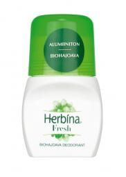 Biohajoava, alumiiniton deodorantti sisältää luomulumpeen uutetta ja luomuruusuvettä.