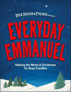 What is Everyday Emmanuel? It's a fun, easy-to-use family Christmas Countdown experience designed to help families make the most of Christmas and better understand the true meaning of the season. You make your own Countdown to Christmas Calendar