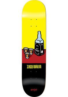 Enjoi Wallin-Wray-R7 - titus-shop.com  #Deck #Skateboard #titus #titusskateshop