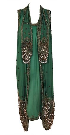 BKLYN contessa | life+style field guide :: circa 1920 :: beaded silk chiffon with metallic lace dress