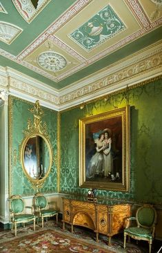 harewood house landhaus dekoration schlafzimmer ideen barock englische antike mobel georgianische inneneinrichtung