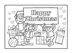 A great way of personalising greeting cards, is to make your own! Let your child enjoy colouring in this homemade Christmas card, and writing their own message inside. iChild.co.uk