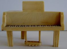 File under dollhouse piano plastic Vintage Dollhouse Miniature Plastic Masters Celluloid Baby Grand Piano Coin Bank | Dolls & Bears, Dollhouse Miniatures, Furniture & Room Items | eBay!