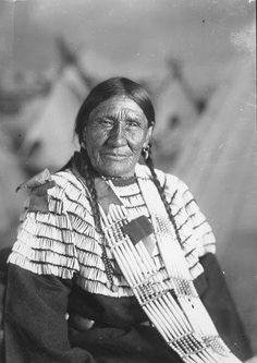 Bear Face Woman - Hunkpapa - circa 1920