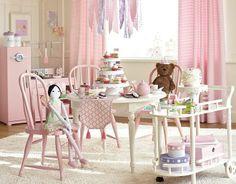 pottery barn kids playroom | Tea Party | Pottery Barn Kids | Kid's Playroom