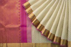 Kanakavalli Handwoven Kanjivaram Silk Sari 1021237 - Sari / Kanjivarams - Parisera