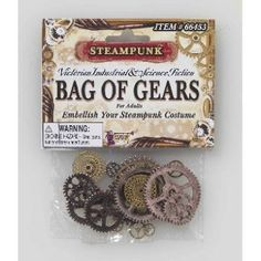 Gears-decorating accessory. Great for invitations, favor tags, bouquets or tables.