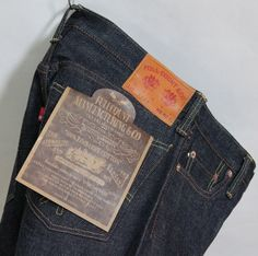 FULL COUNT DENIM 1108 STRAIGHT LEGS Manufacturer info: Full Count shrink to fit about 2 inch (unsanforized) tight straight low rize 13.7oz Denim Length 34inch Zimbabwe cotton100% Button Fly Made In okayama Japan