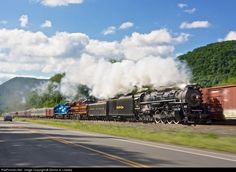 RailPictures.Net Photo: NKP 765 Nickel Plate Road Steam 2-8-4 at Huntingdon, Pennsylvania by Dennis A. Livesey