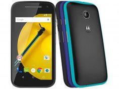 """Smartphone Motorola Moto E Colors 2° Geração 16GB - Dual Chip 4G Câm. 5MP Tela 4.5"""" Proc. Quad Core"""