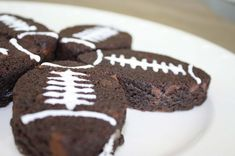 Laces Out Football Brownie Recipe