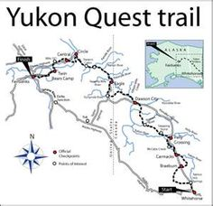 Yukon Quest trail