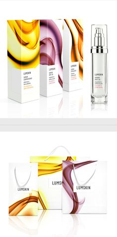 Lumskin Serums by Denise del Carmen, via Behance