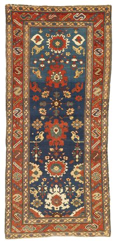 Caucasian Kuba long rug, early 19th century