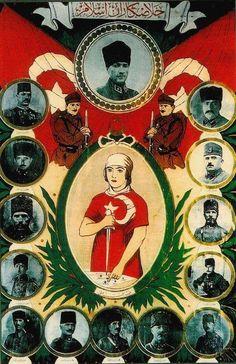Mustafa Kemal Atatürk's Fotos Republic Of Turkey, The Republic, Turkish Soldiers, Research Images, National Archives, Ottoman Empire, Illustrations, World War Ii, Nostalgia