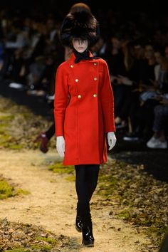Red coat -  Moncler Gamme Rouge 2015 Clothing Collection