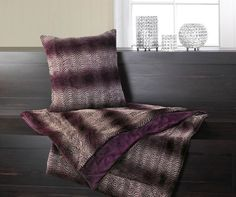 Orchid Ombre Fur Blanket