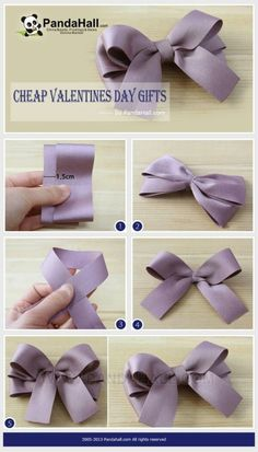 a pair of scissors and three strands of wide Stain Ribbon, you can handle this how to make hair bows plan rapidly.How to make Hair Bows - Free Hair Bow Tutorials Made the elephant for a friend and she loved it!DIY bow with simple instructions. Diy Ribbon, Ribbon Crafts, Ribbon Bows, Ribbons, Ribbon Flower, Tying Bows With Ribbon, Burlap Bows, Fabric Ribbon, Satin Bows