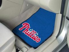 MLB - Philadelphia Phillies 2 Piece Front Car Mats