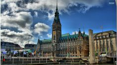 awesome hamburg city hall hdr wallpaper Check more at http://www.finewallpapers.eu/pin/4811/