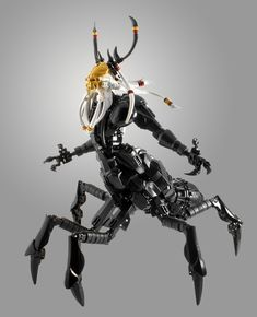 """""""Skull Kraata: The Lord of Spiders"""" by dviddy: Pimped from Flickr"""