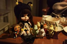 Moomins and cheburashka :)