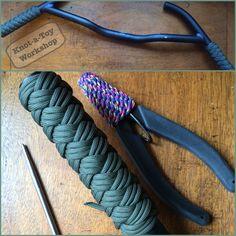 Turkshead Handlebar Grips, Knot-A-Toy Workshop