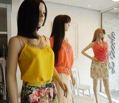 Vitrine da Semana Femme: 08/11/2012 à 14/11/2012  Verão 2013 - Muitas Flores e Cores