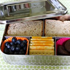 """We love it because it lets you pack a variety of healthy choices no matter what your lifestyle.  5 compartments for a wide variety. Only food grade stainless steel comes into contact with your food. No linings. No toxins. Made of the highest quality 18/8 stainless steel, easy-to-clean, and virtually unbreakable. Refill your LunchBots over and over, save money and add zero waste to landfills. Bento Cinco food containers are best for drier foods as lids are not water tight. DIMENSIONS: 8"""" x 6""""…"""