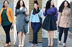 plus size/ curvy girl fashion