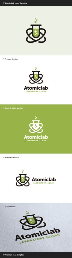 Atomic Lab - Laboratory Logo  #graphicriver